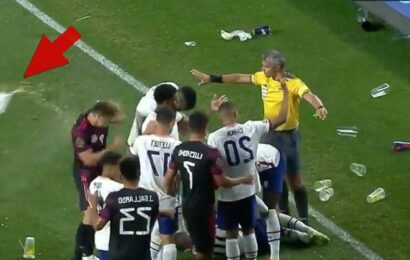 USMNT vs. Mexico Soccer Match Marred By Anti-Gay Chants, Violent Trash Throwing