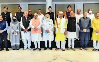 Why did the government really initiate J&K talks?