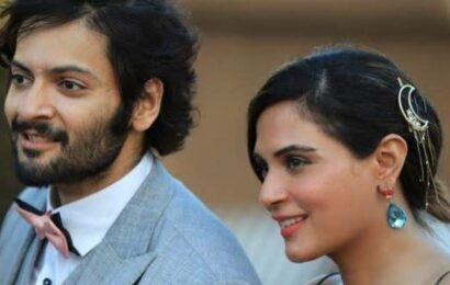 'Begum, pick up the phone': Ali Fazal pens romantic note for fiancée Richa Chadha