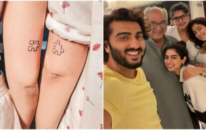 Arjun Kapoor's sisters Anshula and Khushi get matching tattoos: 'Love you to pieces'