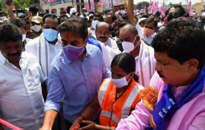 Balanagar flyover inaugurated