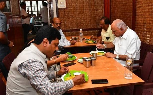 CM's son rubbishes reports on leadership change in Karnataka