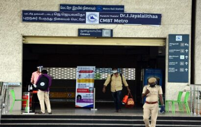 Chennai Metro services extended till 10 pm following demand for night operations