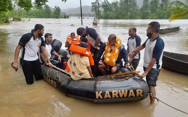 Coast Guard rescues 155 persons stranded on islands in Uttara Kannada district