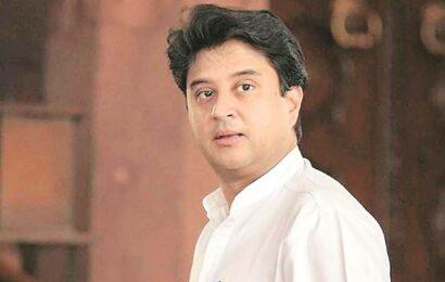 Cong's IYC chief takes 'for sale' jibe at Jyotiraditya Scindia, BJP hits back