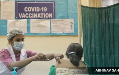Covid vaccination centre for pregnant and lactating women set up in North West Delhi