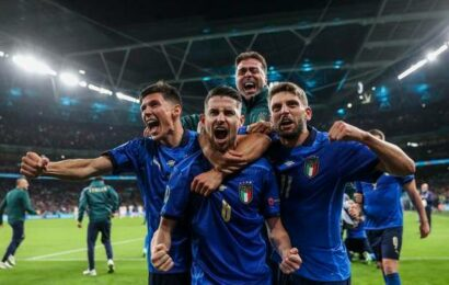 Euro 2020   Italy hold nerve to beat Spain on penalties and reach final