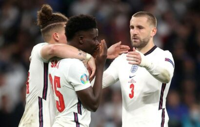 Euro 2020: Racist abuse targets three English players who missed penalties