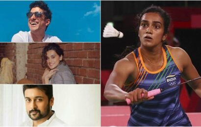 Farhan Akhtar, Taapsee Pannu, Suriya congratulate PV Sindhu on Olympics quarter-final win, call her 'rockstar'