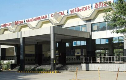 Gandhinagar is first of 125 railway stations that got redeveloped