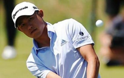 Golf   Morikawa makes the charge into British Open lead