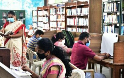 Govt. libraries reopen after 75 days