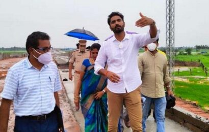 Greenfield Highway work commenced in Andhra to reduce 100km distance between Hyderabad and Visakhapatnam