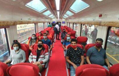 Karnataka's first Vistadome coach service begins maiden journey