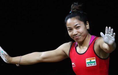 Mirabai Chanu lands in Tokyo ahead of Olympics