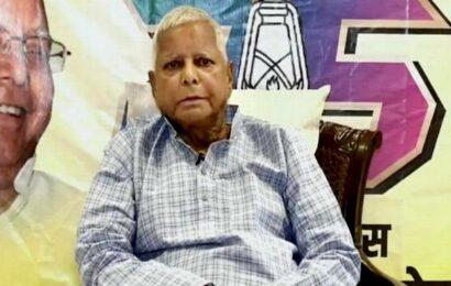 My regime was not jungle raj, says Lalu