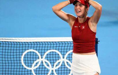Olympics Tennis: Swiss Bencic wins women's singles gold