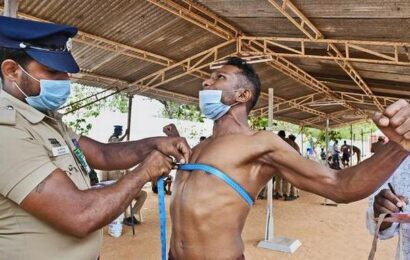 Over 370 candidates attend physical test for constabulary recruitment