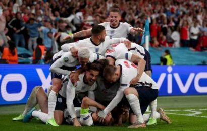 PIX: Harry Kane takes England past Denmark to Euro final