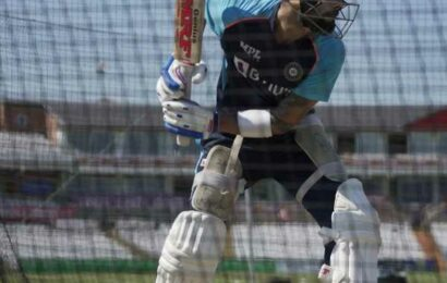 PIX: Kohli just loves to bat…