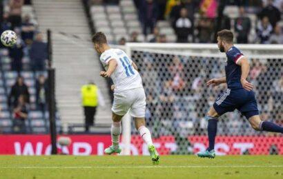 Patrik Schick's long-range strike against Scotland voted goal of Euro 2020