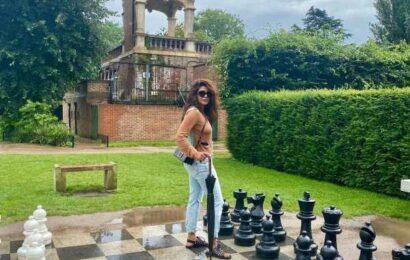 Priyanka Chopra's London holiday