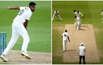 R Ashwin bags six-wicket haul in County cricket