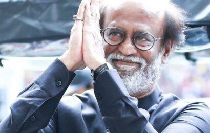 Rajinikanth returns to Chennai amid fanfare, watch video