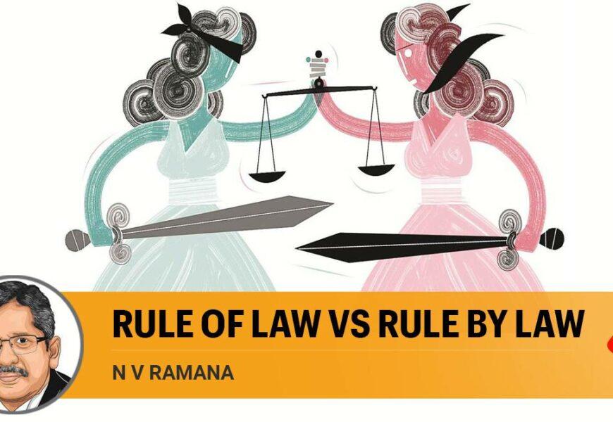 Rule of Law vs Rule by Law