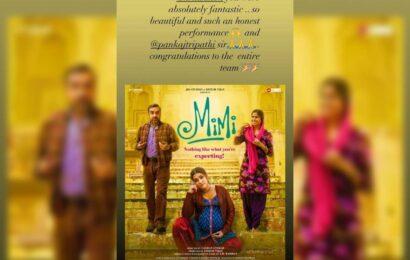 Samantha Akkineni review on Mimi