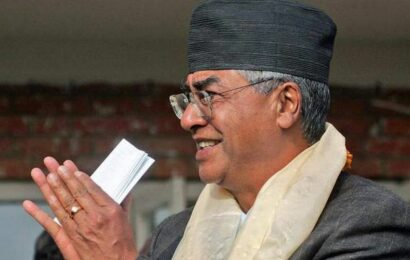 Sher Bahadur Deuba takes oath as Nepal's PM for record 5th time