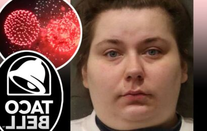 Taco Bell Employee Arrested After Allegedly Setting Off Fireworks Inside Restaurant & Locking Herself Out!