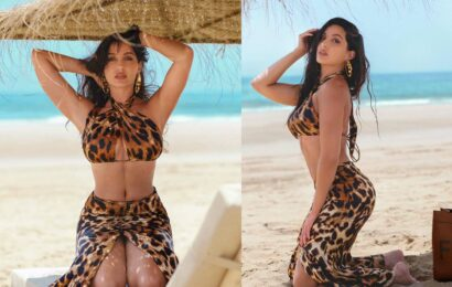 Temper special girl beach pic for 30 Million followers
