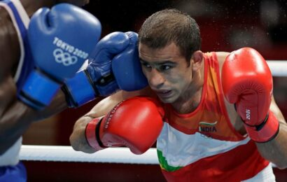 Tokyo 2020: Amit Panghal's debut campaign ends after shock loss in last-16