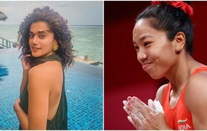 Tokyo 2020: Taapsee Pannu, Farhan Akhtar laud Mirabai Chanu's silver medal win