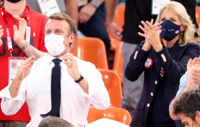 Tokyo Olympics Highlights: Biden 1, Macron 0