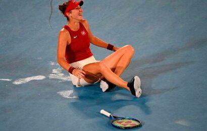 Tokyo Olympics   Switzerland's Bencic beats Vondrousova to win Olympic tennis title