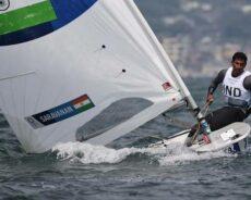 Tokyo Olympics | Vishnu Saravanan moves up to 22, Nethra slips to 33