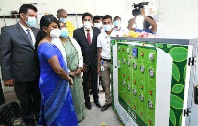 Two oxygen generators donated to the Nilgiris