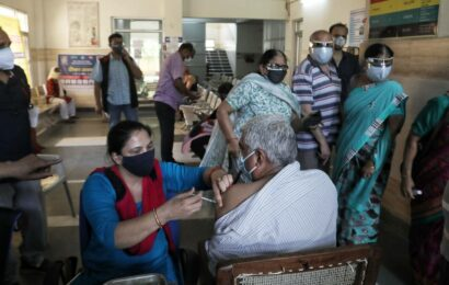 Vaccine crunch in Gurgaon, under 10,000 get the shot on Tuesday