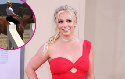 Watch Britney Spears Do Cartwheels, Ride Horse to Celebrate Hearing Victory