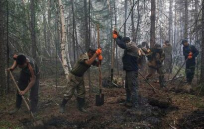 Wildfires in Russia's Siberia could endanger a power plant