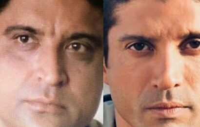 'They could be twins': Shabana Azmi points at Javed Akhtar-Farhan Akhtar's stark resemblance, see photos
