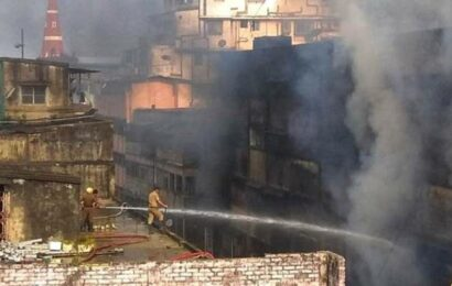 3 years after fire: Bagri Market in Kolkata reopens for business