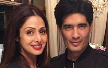 'Sridevi told me she is not planning to work anymore, I had a lump in my throat': Manish Malhotra remembers the icon