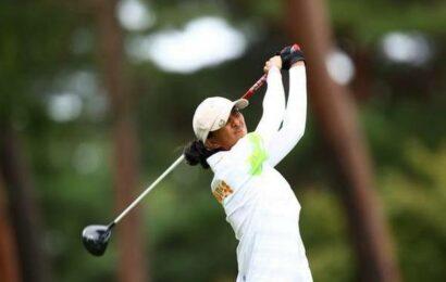 Aditi makes cut at Women's Open golf