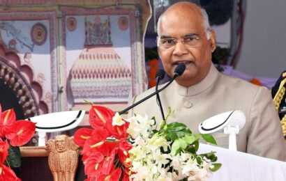 Ayodhya is nothing without Lord Ram: President Kovind during visit to city
