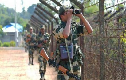 BSF on high alert along Indo-Bangla border over security threats from Islamist terrorists on Independence Day