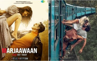 BellBottom song Marjaawaan's poster copied? Here's what fans said about Akshay Kumar-Vaani Kapoor photo