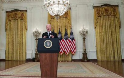 Biden warns Taliban of swift, forceful response if Americans are harmed